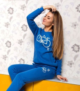 Bluza BIKE BLUE